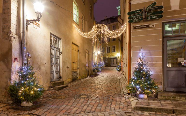 Weihnachtszeit Tallinn EDITIVE
