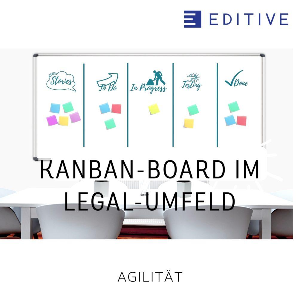 Kanban-Board im Legal-Umfeld