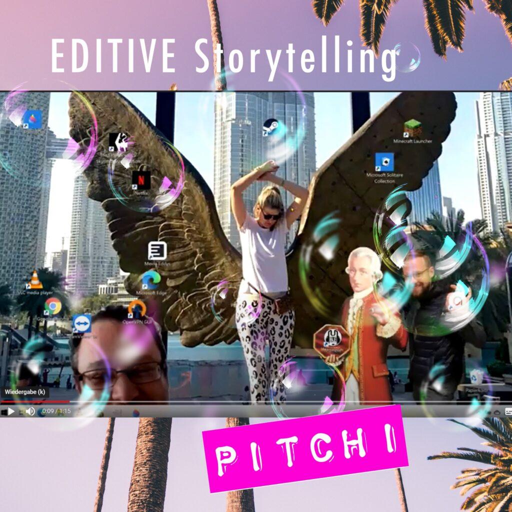 Storytelling bei EDITIVE: unser Pitch für die CKI Siemenskonferenz