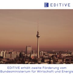 EDITIVE erhält Förderung vom BMWi