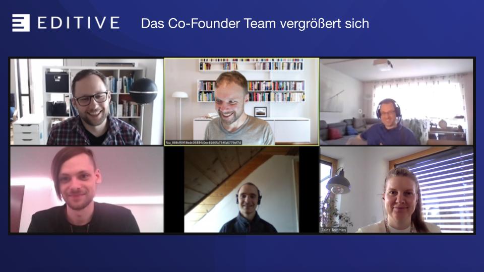 Das Co-Founder Team für den EDTIVE Dokumentvergleich vergrößert sich