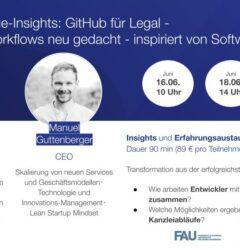 GitHub for Legal